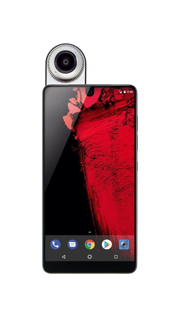 Essential phone and optional 360 camera