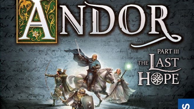 A review of the board game Legends of Andor: The Last Hope by Thames & Kosmos.
