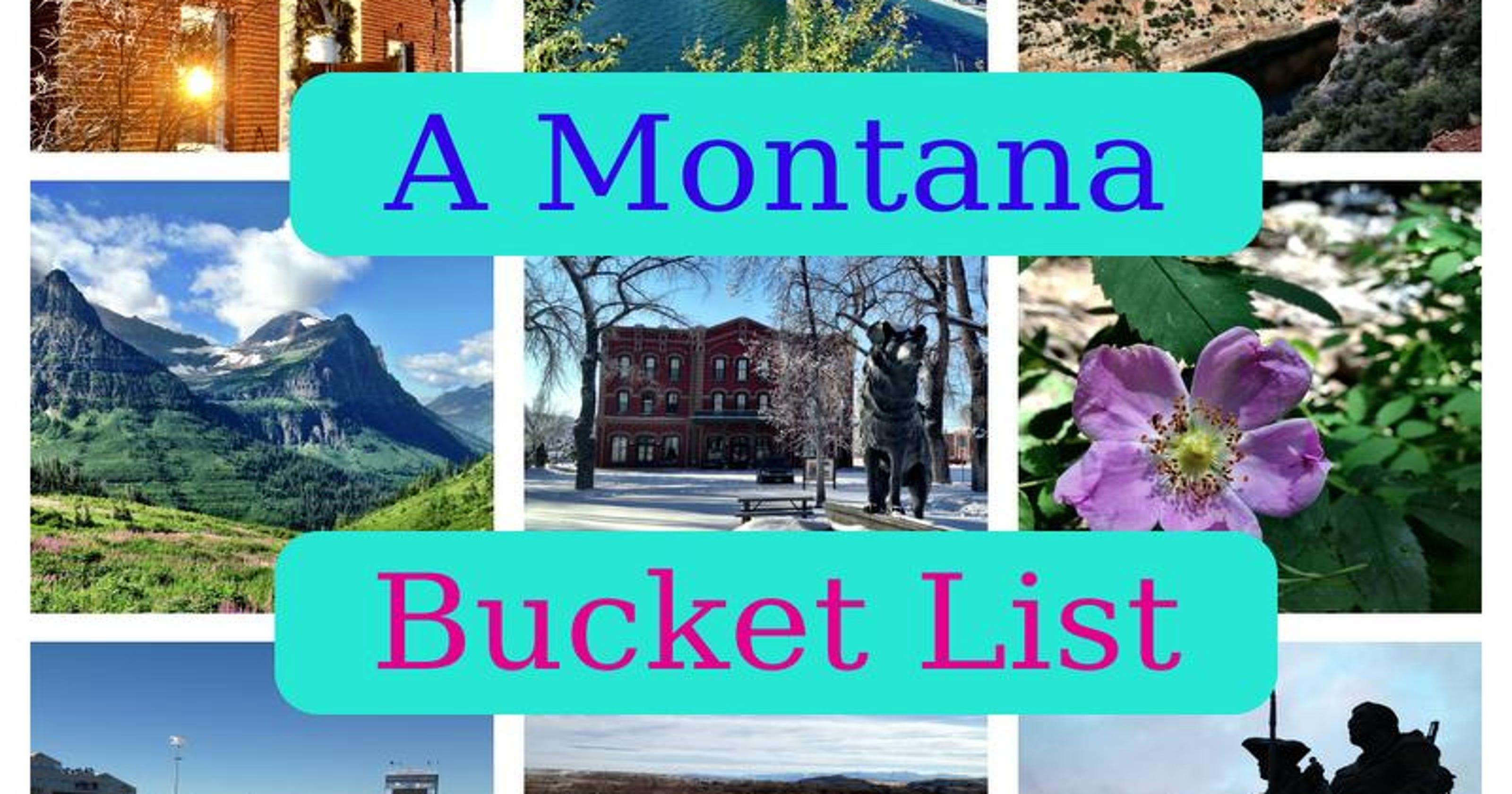 A Montana bucket list: 100 things every Montanan should do