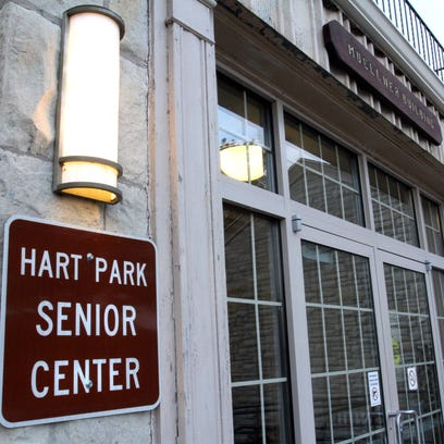 The Hart Park Senior Center serves noon meals on weekdays to members.