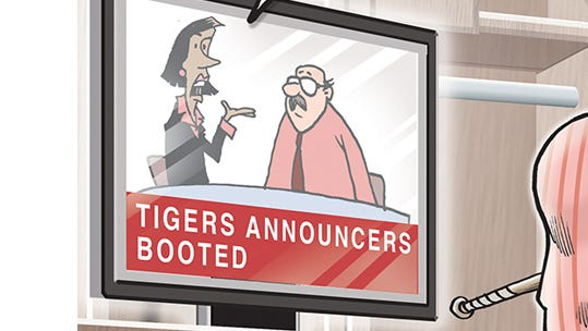 The Detroit Tigers broadcasters won't be returning next season.