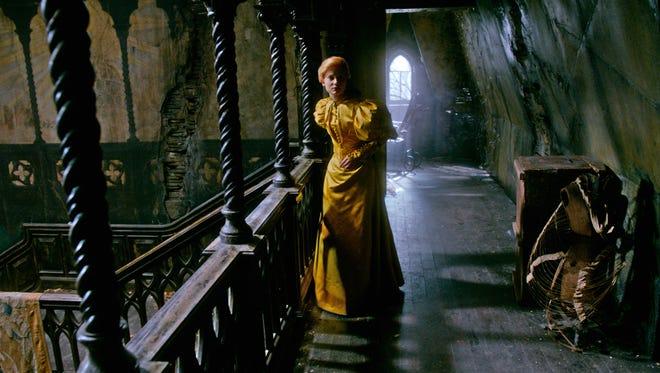Mia Wasikowska learns the terrors of Allerdale Hall in 'Crimson Peak.'