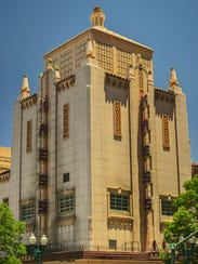 The Kress Building was completed in 1937 and was a