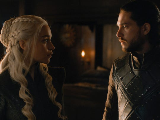 The alliance between Daenerys Targaryen (Emilia Clarke)
