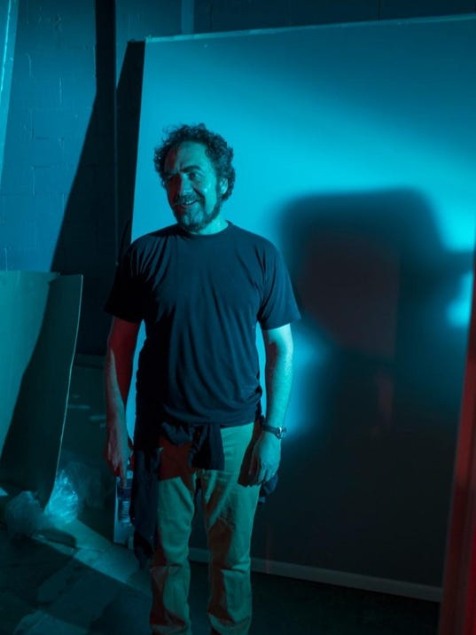 Rodney Ascher on the set of THE NIGHTMARE, courtesy Rodney Ascher