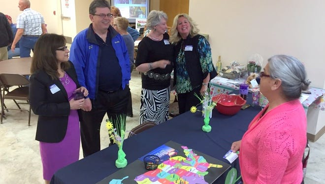 Deming-Luna County Economic Development hosted the first-ever Taste of Deming public event this past Thursday at the Deming Senior Center, 800 S. Granite St. The event drew local businesses and community organizations to showcase what they had to offer the community.
