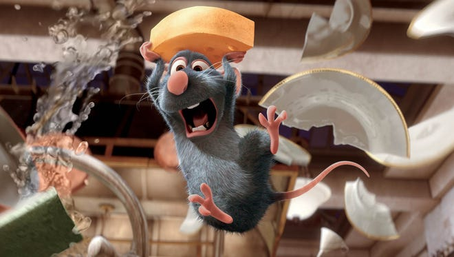 """Catch more than a movie at Salem's Historic Grand Theatre as Enlightened Theatrics Chef's Cinema series presents """"Ratatouille"""" 3 p.m. Sunday, April 9. Cost is $7 for screening only, $25 for food, talk and movie."""