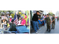 """Vietnam Veterans were honored at a """"Welcome Home"""" parade."""