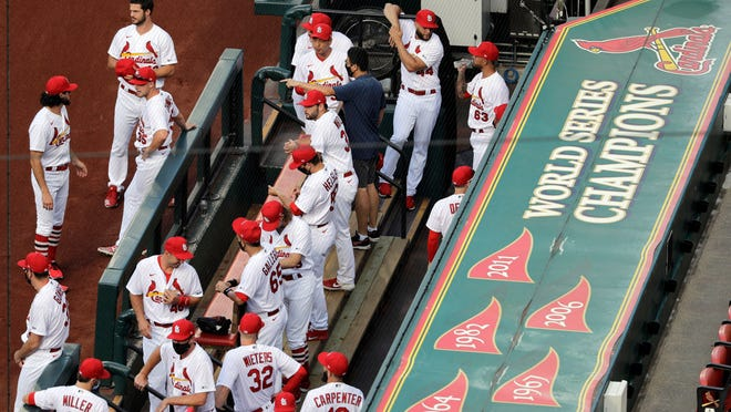 Another series for the St. Louis Cardinals has been postponed.
