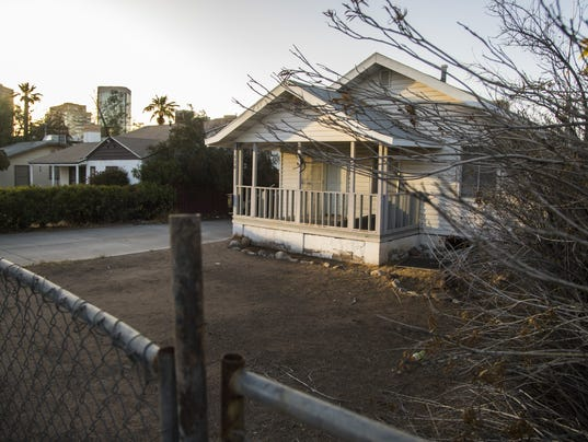 Homes to be torn down