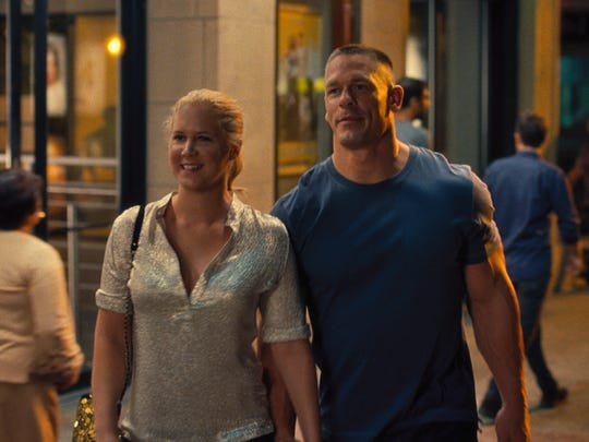 John Cena (right) had a scene-stealing role opposite