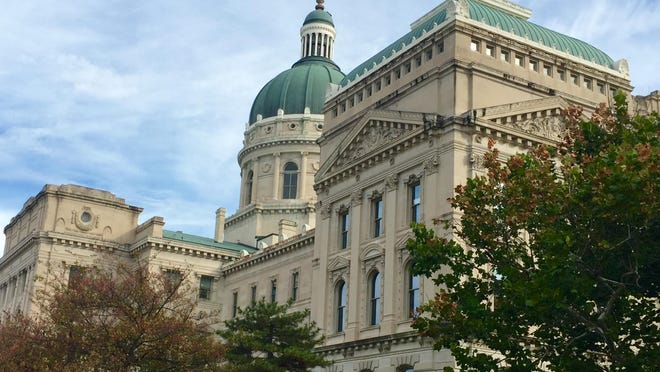 A view of the Statehouse on Nov. 1, 2016.