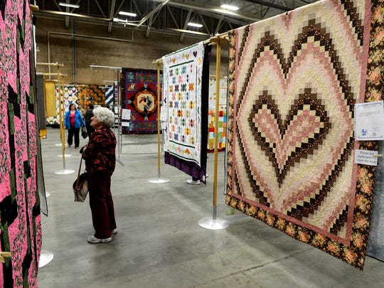The Falls Quilt Guild quilt show takes place Friday