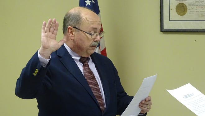 Stephen Bordenkircher took his oath of office Thursday to become the newest mayor of West Lafayette. He replaces Jack Patterson, who retired after serving 24 years in the post.