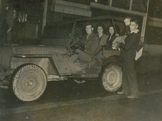 Six-year-old Billy Michal on a jeep tour of New Orleans