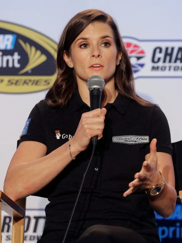 Danica Patrick confirmed she would like to return to