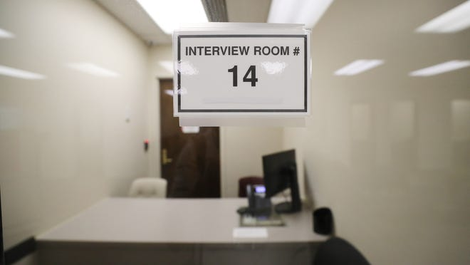 An Office of Recovery Services interview room in Salt Lake City on Saturday, Aug. 11, 2018.