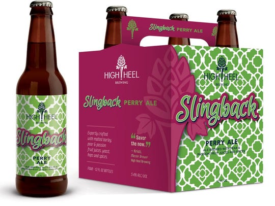 One of High Heel Brewing's first two releases, Slingback