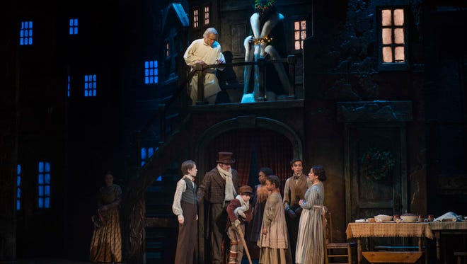 "The Milwaukee Repertory Theater performs ""A Christmas Carol"" through Dec. 24 at the Pabst Theater."