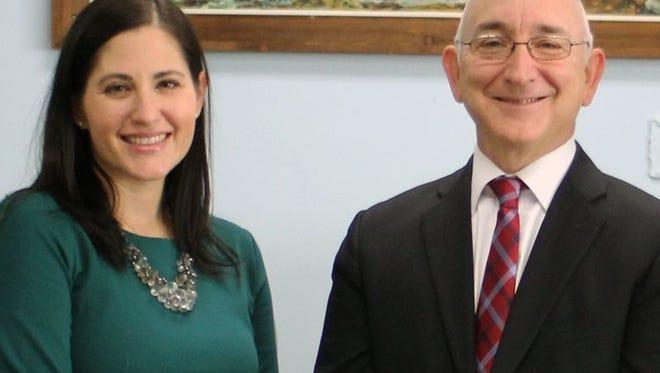 Christine Madrid and Mark Conforti