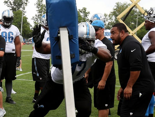 Nike jerseys for sale - Detroit Lions DT Caraun Reid feeling 'awesome' after ankle surgery