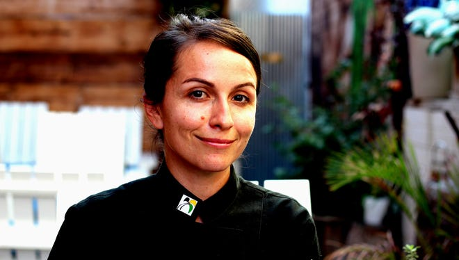 Danielle Leoni, executive chef and co-owner of The Breadfruit & Rum Bar in Phoenix.