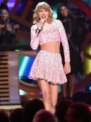 Taylor Swift performs during the 2014 iHeartRadio Music Festival at the MGM Grand Garden Arena on Sept. 19, 2014, in Las Vegas.