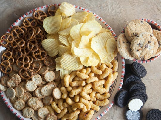 Pastries, cakes, cookies , chips, crackers should only be eated about once every three months. Good food choices should be made consistently, and the foods that cause you to gain weight must be limited consistently.