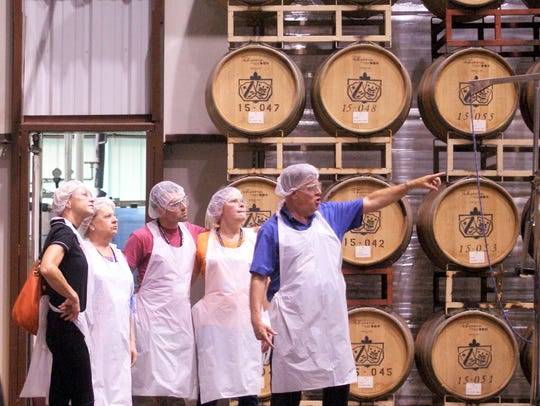 The St. Cair Winery at 1325 de Baca Road also has guided