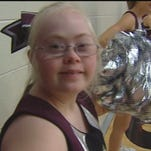 Cheerleader with Down syndrome inspires others
