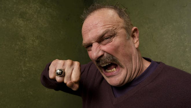 "Wrestler Jake ""The Snake"" Roberts will headline Twin Tiers Comic-Con this weekend."