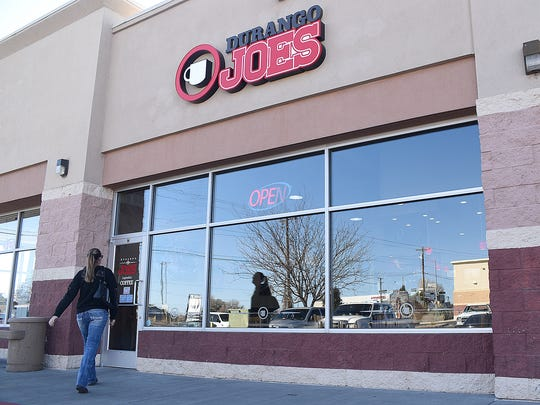The third Durango Joes Coffee location in Farmington opened last month in the Farmington Plaza.