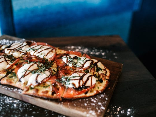 A Caprese flatbread at Public House.