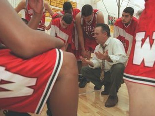 Jerry Smith coached basketball at Woodbridge High School