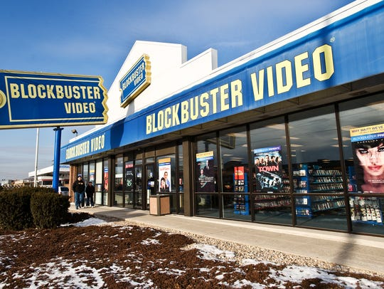 The Blockbuster Video store at 1039 Carlisle Street