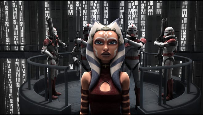 """""""Star Wars: The Clone Wars,"""" which featured young Jedi Ahsoka Tano, is ended its run on Cartoon Network after five seasons."""