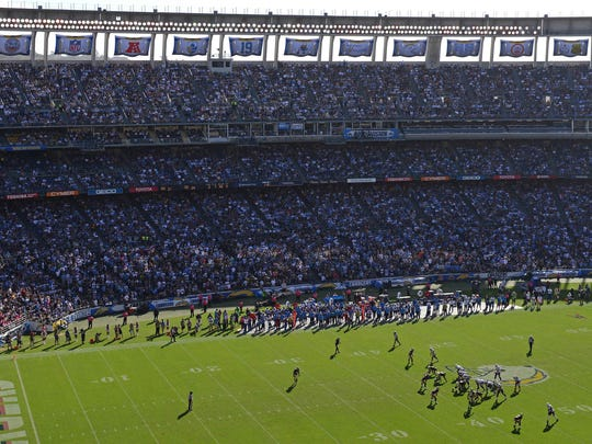 Qualcomm Stadium might be a thing of the past depending