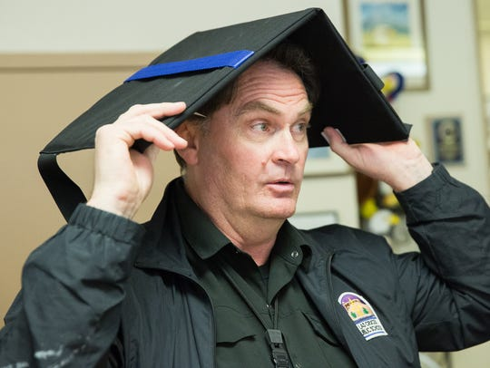 Todd Gregory, head of the security department of Las
