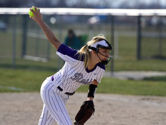 Morgan Englund returns as Fremont Ross' starter in the circle.