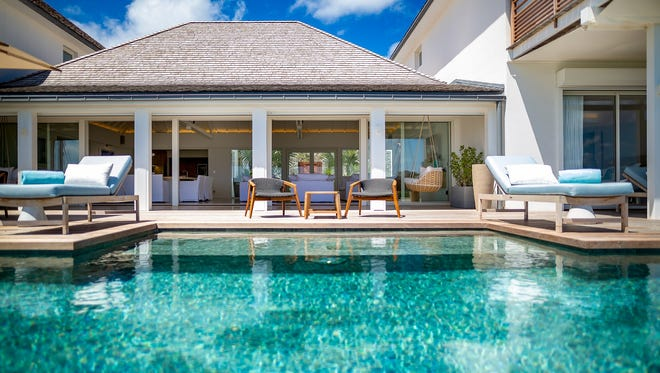 The newly renovated Le Barthélemy Hotel & Spa has 44 rooms and suites and two adjacent full-service villas.