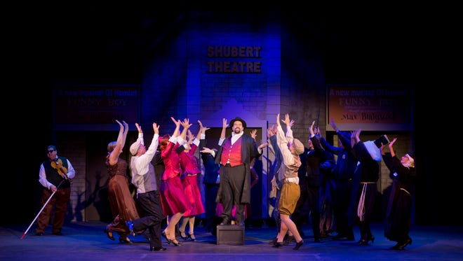 """Thge hit musical """"The Producers"""" is now playing at Asheville Community Theatre."""