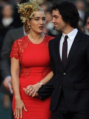 """Kate Winslet and Ned Rocknroll in 2012. """"We really"""