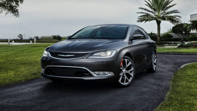 The redesigned 2015 Chrysler 200 due on sale in June.