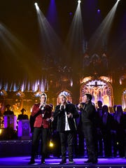 Rascal Flatts performs at the CMA Country Christmas at the Opry House.  Tuesday Nov. 8, 2016, in Nashville, Tenn.