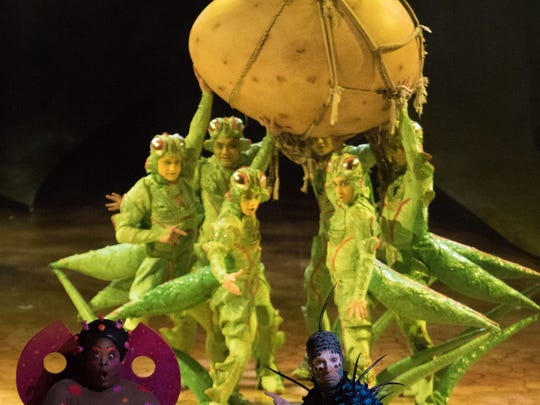 """The crickets work together in this scene from Cirque du Soleil's """"Ovo."""""""