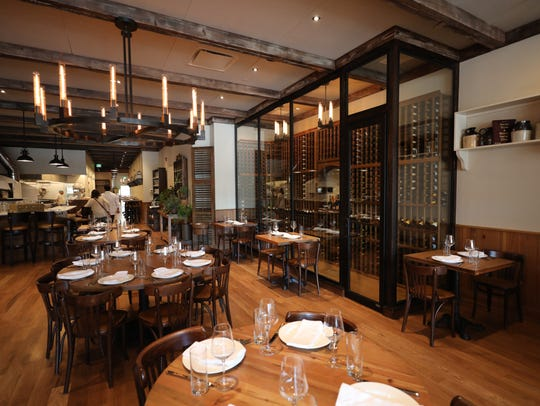 The dining room at Rafele Rye on Purchase Street in