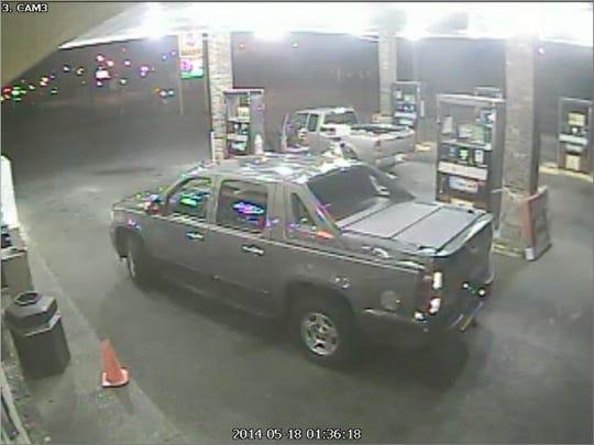 Assault suspect vehicle