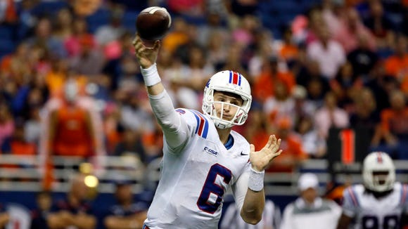 Florida transfer quarterback Jeff Driskel has the 11st-most passing yards in the FBS.