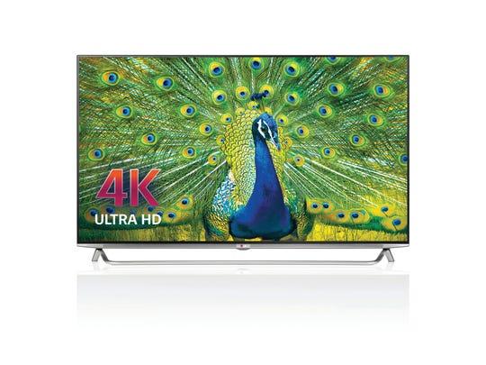 LG Electronics 65-inch Ultra HD 4K TV.