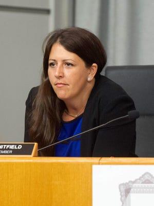 School Board member Erica Whitfield.